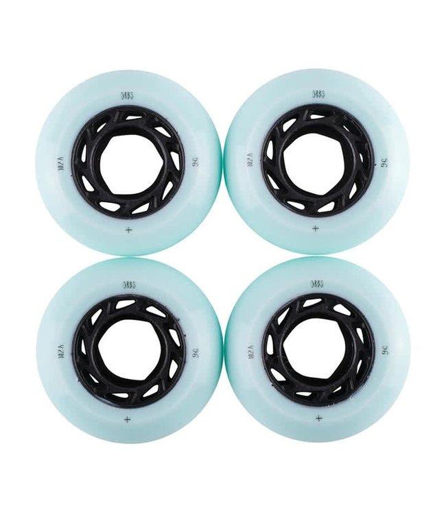 Orbs wheels GHOST LITES 56MM - LIGHT BLUE/BLACK