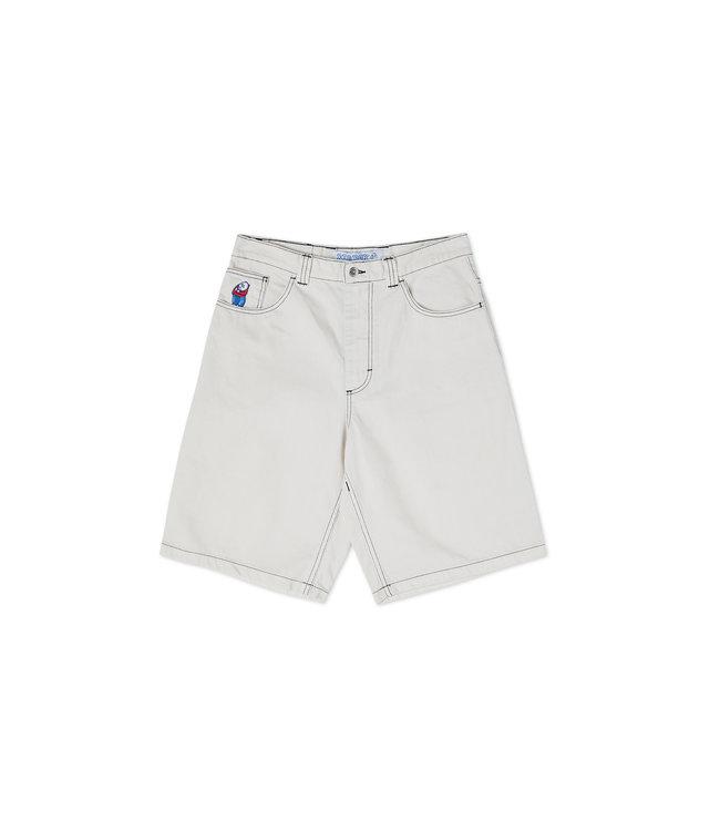 Polar Big Boy Shorts Washed White