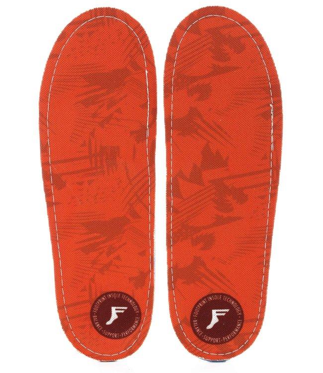 FP Insoles:KF Orthotic:Orange Camo 7/7.5 (U)