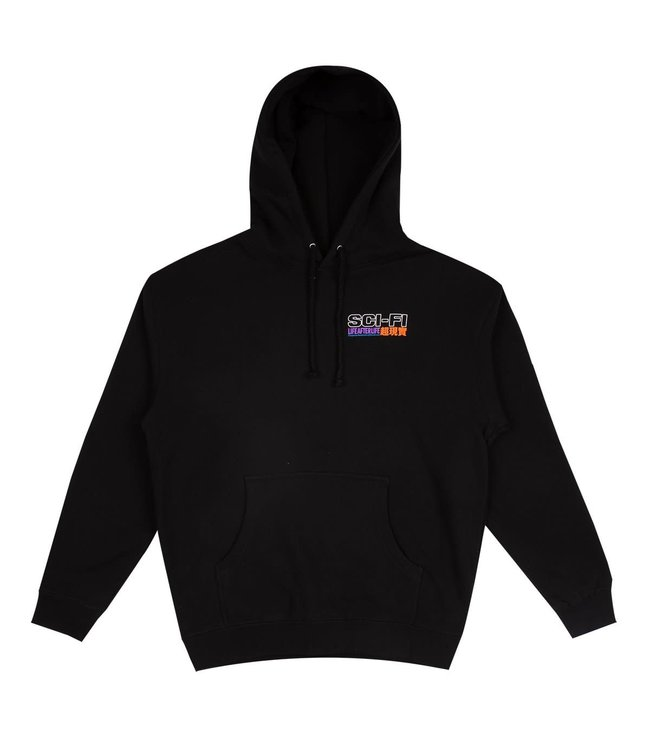 Sci-Fi Fantasy Life After Life  Black Hoodie