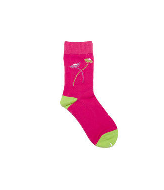Park Deli Park Deli Double Stem Socks Fuschia