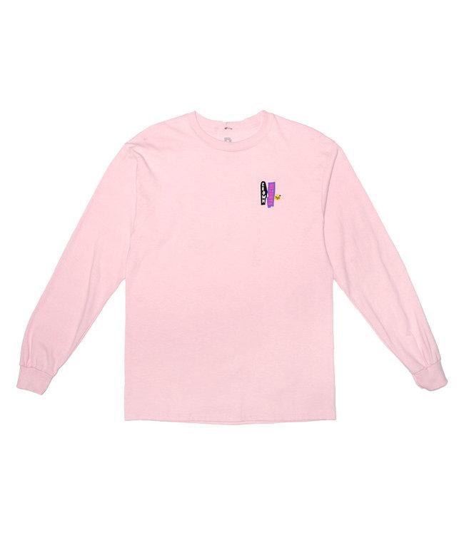Park Deli Windows Stew LS tee Soft Pink