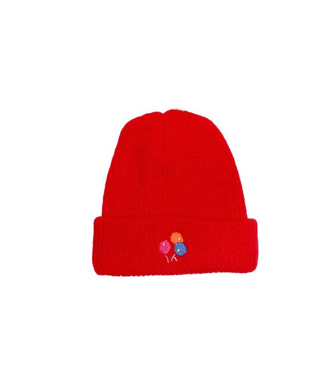 Park Deli Knit Cap Bright Red