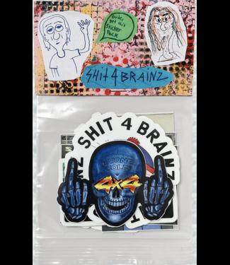 Shit4Brainz Shit4Brainz sticker pack