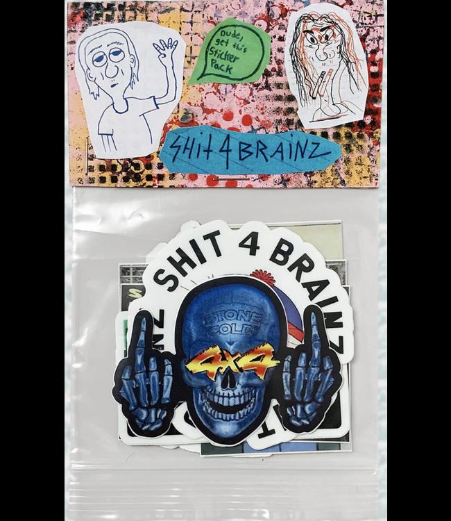 Shit4Brainz sticker pack