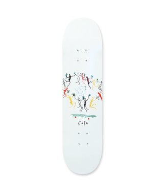 Cafe Cafe Peace Deck (White)  8.0
