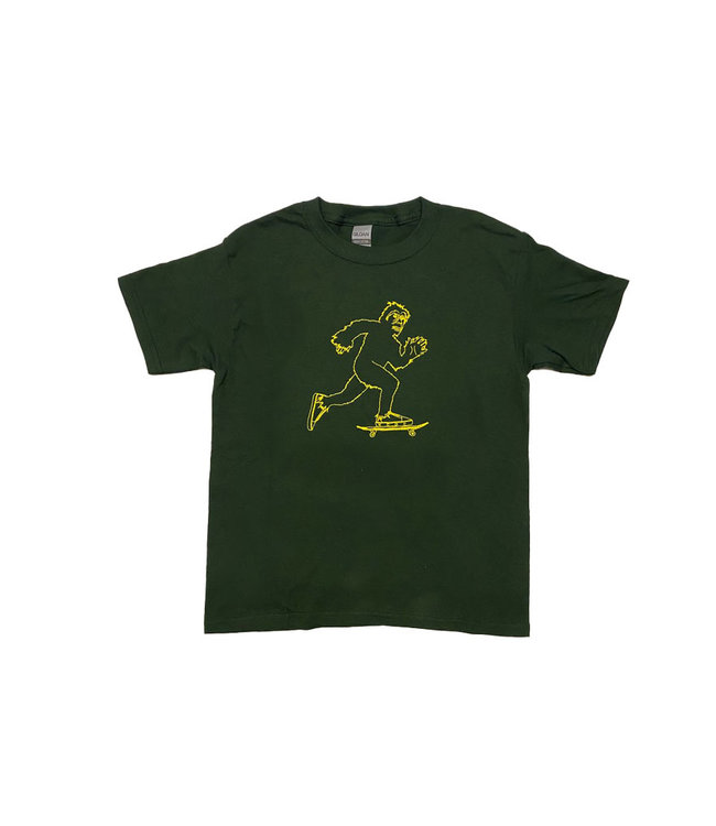 KCDC Bigfoot Tee Forest Green