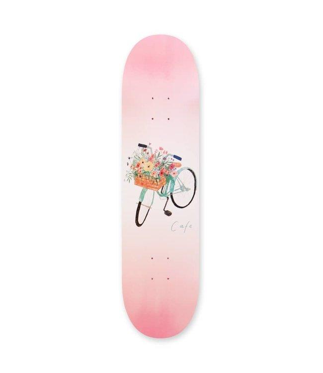 Cafe Deck  Flower Basket Deck (Pink) 8.25