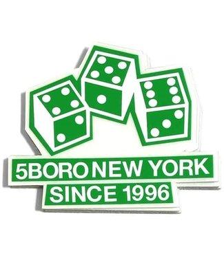 5Boro 5Boro Dice Sticker