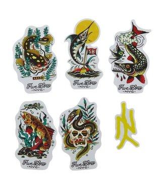 5Boro 5Boro  Fish Sticker Pack