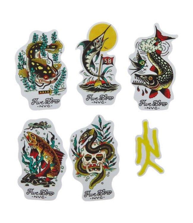 5Boro  Fish Sticker Pack