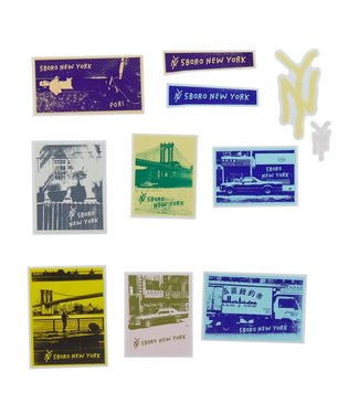 5Boro 5Boro Flickeroo Sticker Pack