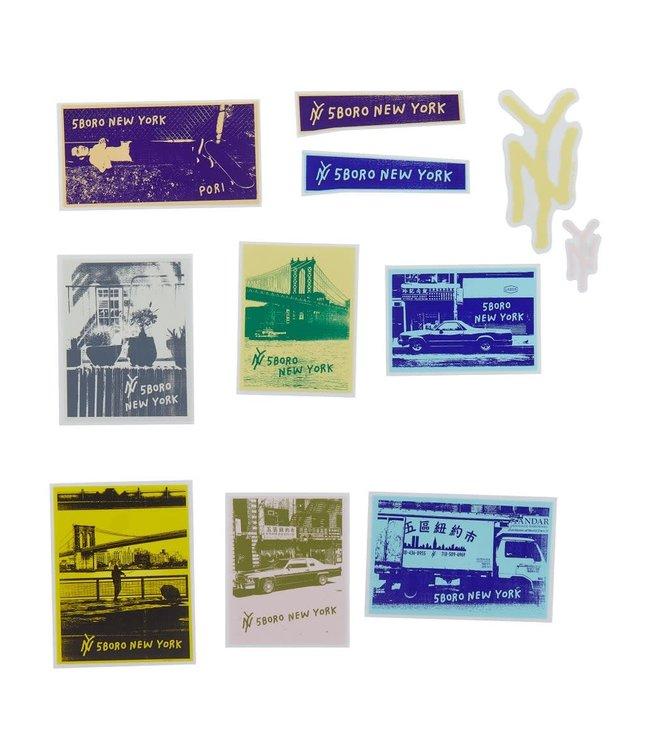5Boro Flickeroo Sticker Pack