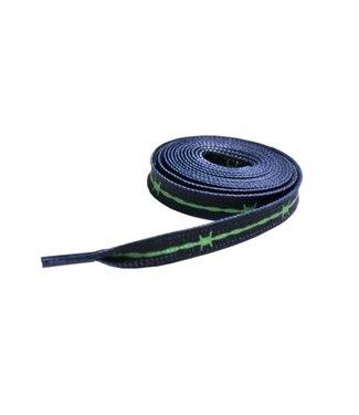 Peels Peels Barbed Wire Shoelaces Black