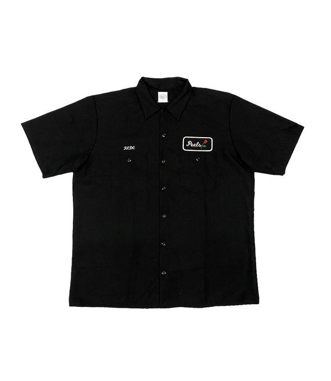 Peels KCDC Rose shirt Black