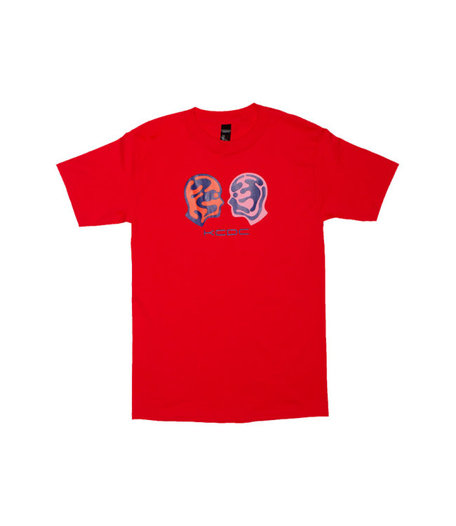 KCDC Two Face Tee Red