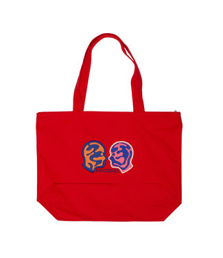 KCDC KCDC Double Face Tote Red