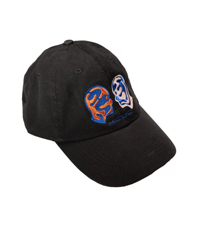 KCDC Sportsman  Unstructured Cap Black