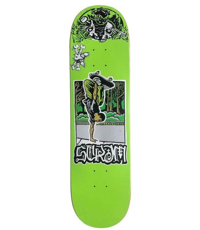 Scram Deck Keenan Green Pop 8.38
