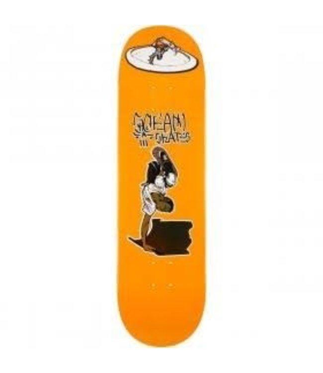 Scram Deck Keenan Orange Pop 8.5