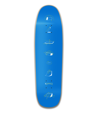 Coda Coda Deck  Obstacle Popsicle 8.5 Shaped