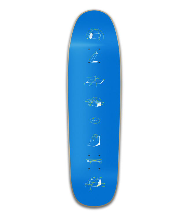 Coda Deck  Obstacle Popsicle 8.5 Shaped