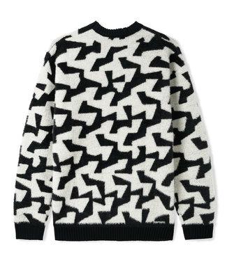 Butter Goods Butter Goods Mohair Knit Sweater Black/White