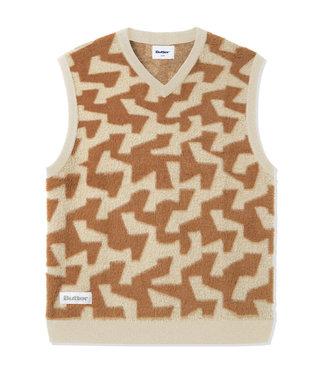Butter Goods Butter Goods Mohair Knit Vest Brown/Tan