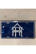 Pier License Plate