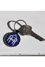 The Fairhope Store Metal Key Chain