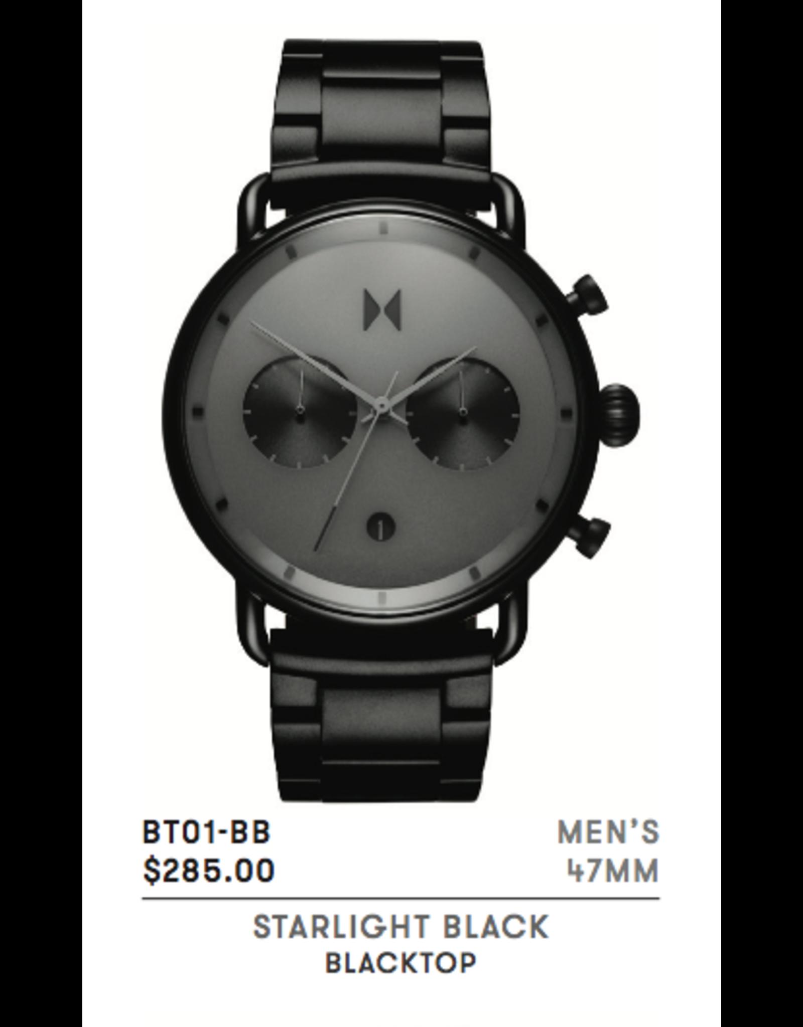 MVMT BT01-BB Starlight Black Blacktop