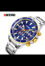 Curren Curren 2 tons, Fond Bleu