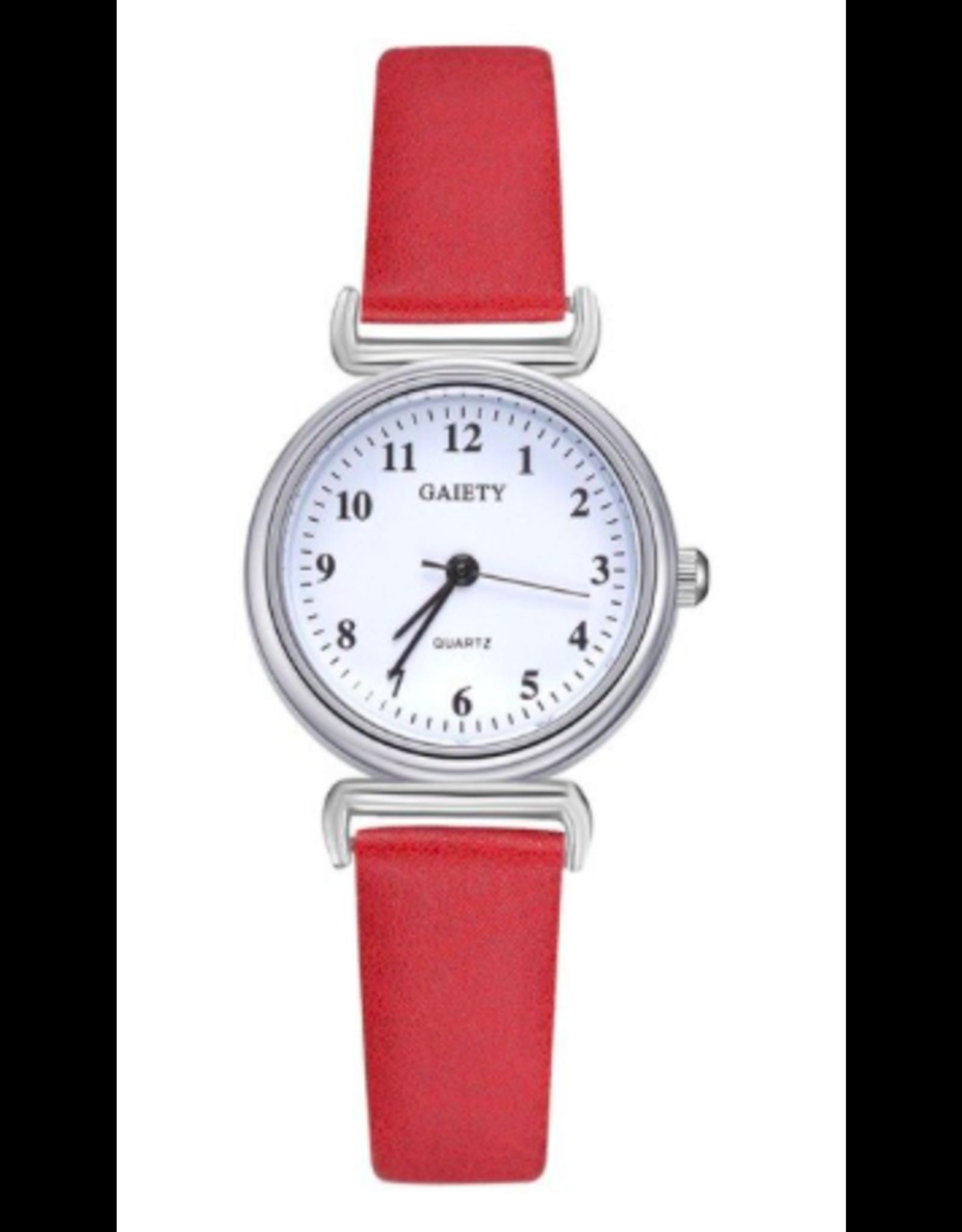 Gaiety Gaiety ronde  bracelet rouge