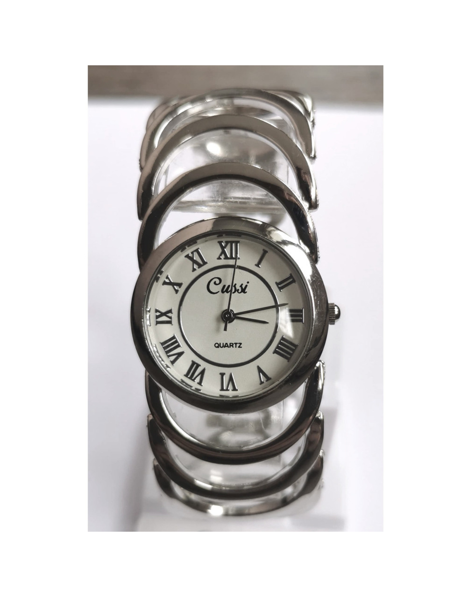 Cussi Bracelet anneaux argents