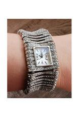 Christian Ricard Carrée argent bling bracelet