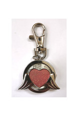 Porte-clés Coeur ailé
