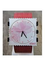 S.T.A.M.P.S Cuir Croco Rose T1021028