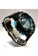 ila sen Digitale noir et bleu turquoise