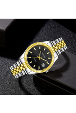 Gaiety Style Rolex 2 tons fond noir date