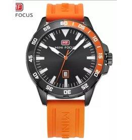 Mini Focus Caoutchouc Orange