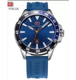 Mini Focus Caoutchouc bleu