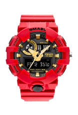 SMAEL Style G-Shock Rouge