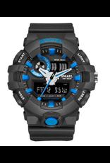 SMAEL Style G-Shock Noir et Bleu
