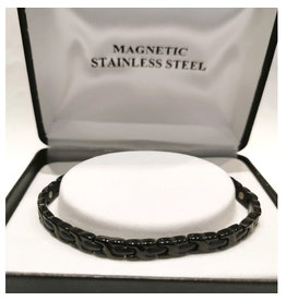 Bracelet magnétique Noir Femme