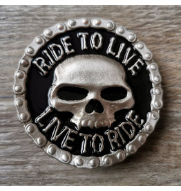 Boucle Ride to live - Live to ride bucke (B69)