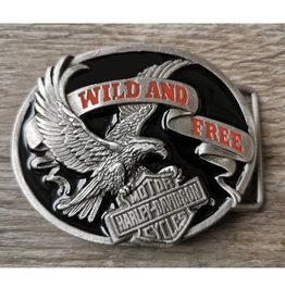 Boucle Boucle aigle wild and free (B19)