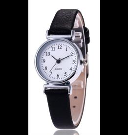 Gaiety Gaiety ronde bracelet noir fond blanc