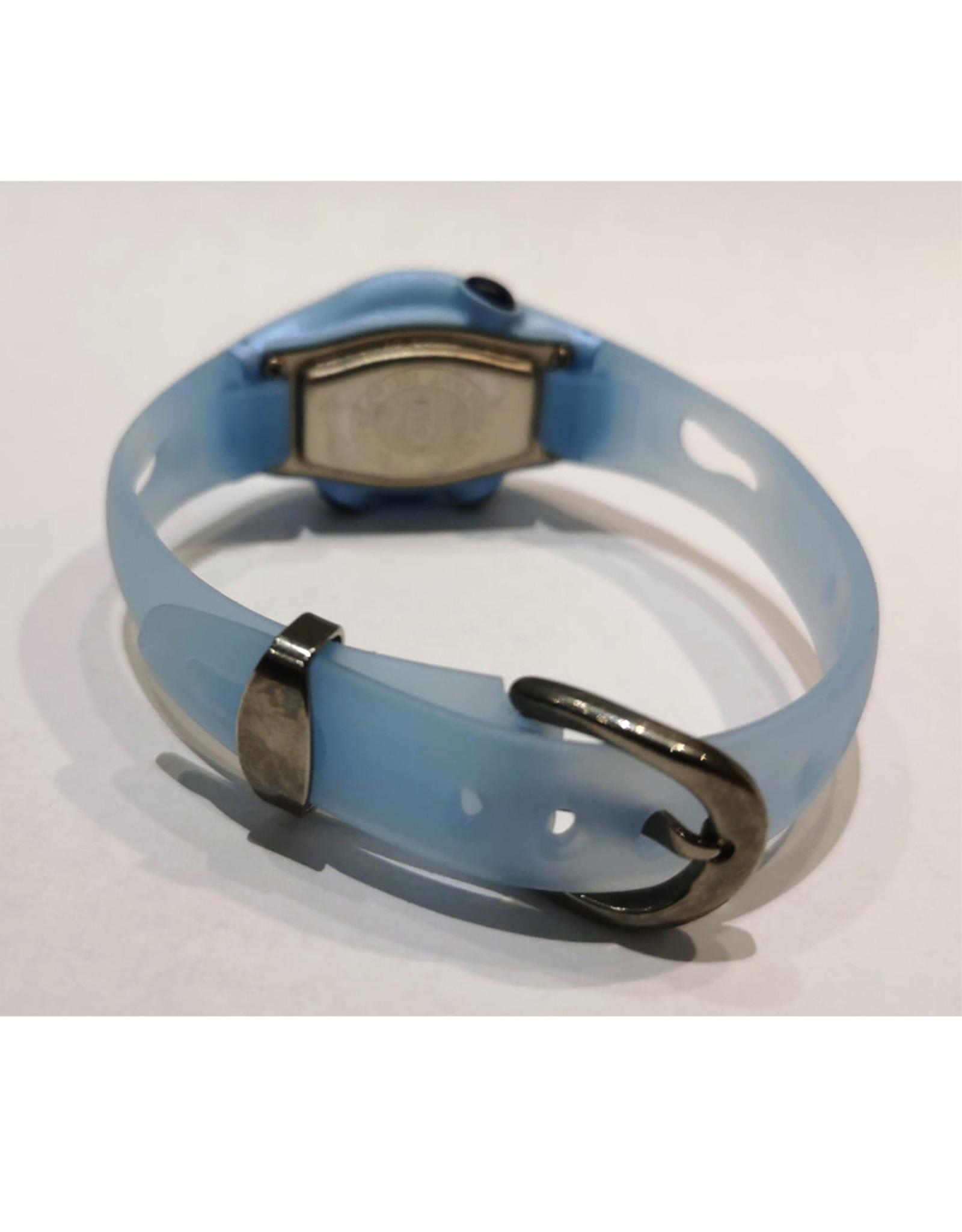Xonix Petite ovale bleu transparent