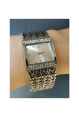 Fashion watch Fashion watch carrée argent