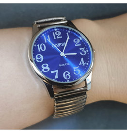 Combu Extensible fond bleu H-2.3